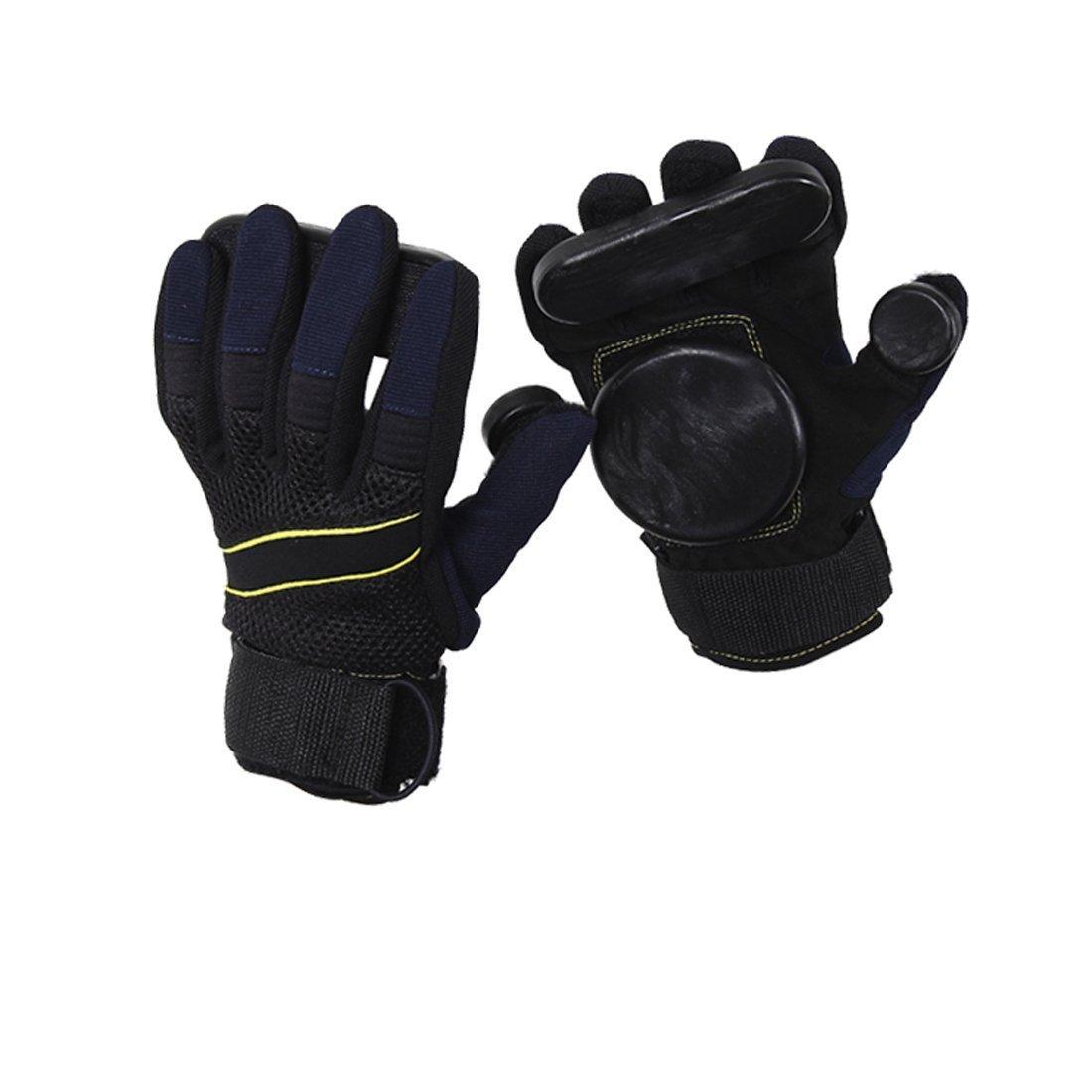 glield Erwachsene Handschuhe von Dias, Grip Freeride Slid Handschuhe Rollen mit Schaumstoff Palm cbst01