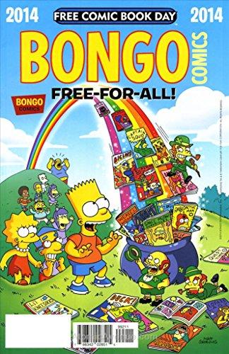 - Bongo Comics Free-For-All! FCBD #2014 VF/NM ; Bongo comic book