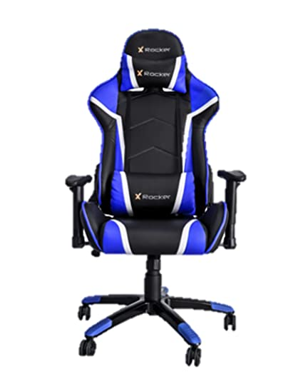 Incredible Amazon Com X Rocker Agility Gaming Chair Blue Sports Uwap Interior Chair Design Uwaporg