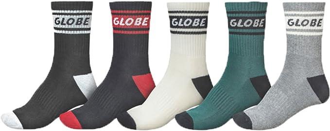 Globe Schooler Crew 5 Pack Socks