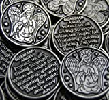 Set of 10 Guardian Angel Pocket Token Coins