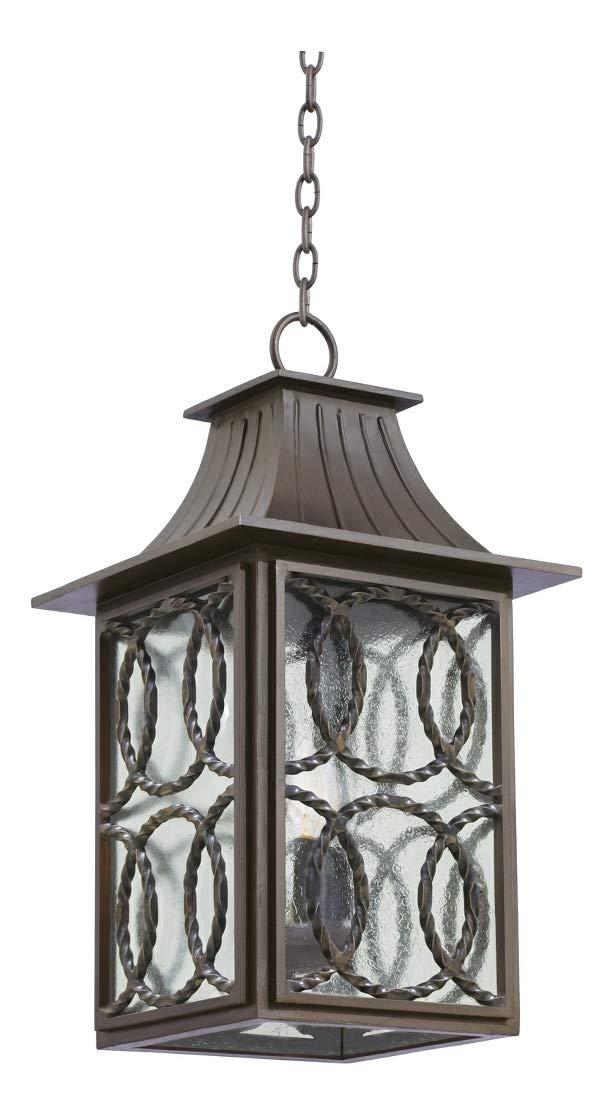 Monterey Large Hanging Lantern Aged Bronze