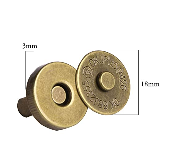 Amazon.com: Onwon - Juego de 20 broches magnéticos para ...