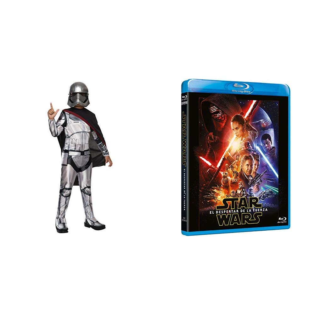 The Force Awakens Blu-Ray + DISFRAZ CAPITAN PHASMA DELUXE INF ...