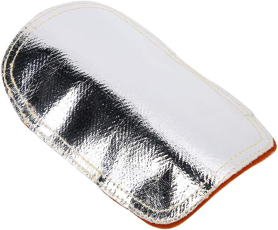 protector de calor de mano para fundici/ón de metal de caldera industrial con protector de mano Protector de mano posterior