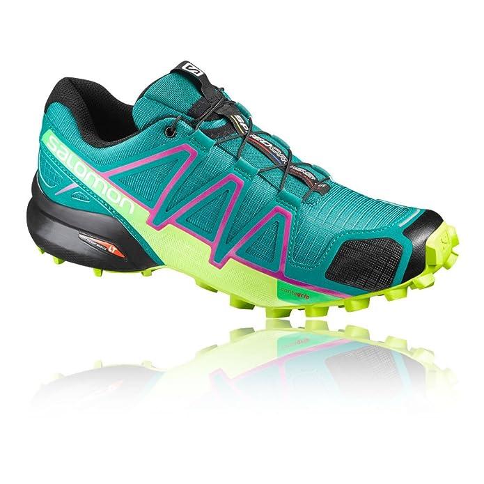 Salomon Speedcross Donna, z1p Nero Running Trail da Scarpe W