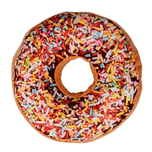 Beautyvan New style Doughnut Shaped Ring Plush Soft Novelty