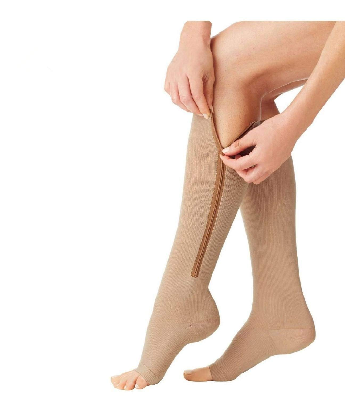 Comfy Socks Carne, L//XL Calcetines compresivos