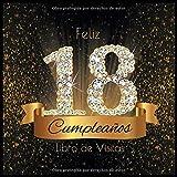 Feliz 18 Cumpleaños - Libro de visitas: Decoración para el ...