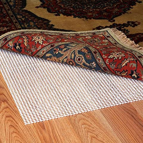Grip-It Ultra Stop Non-Slip Rug Pad for Rugs on Hard Surface Floors, 8 by 10-Feet (Area Rugs Runners 10)
