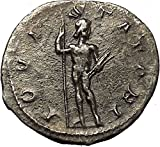Gordian III 241AD AR Authentic Ancient Roman Coin Zeus Zeus Cult i54266