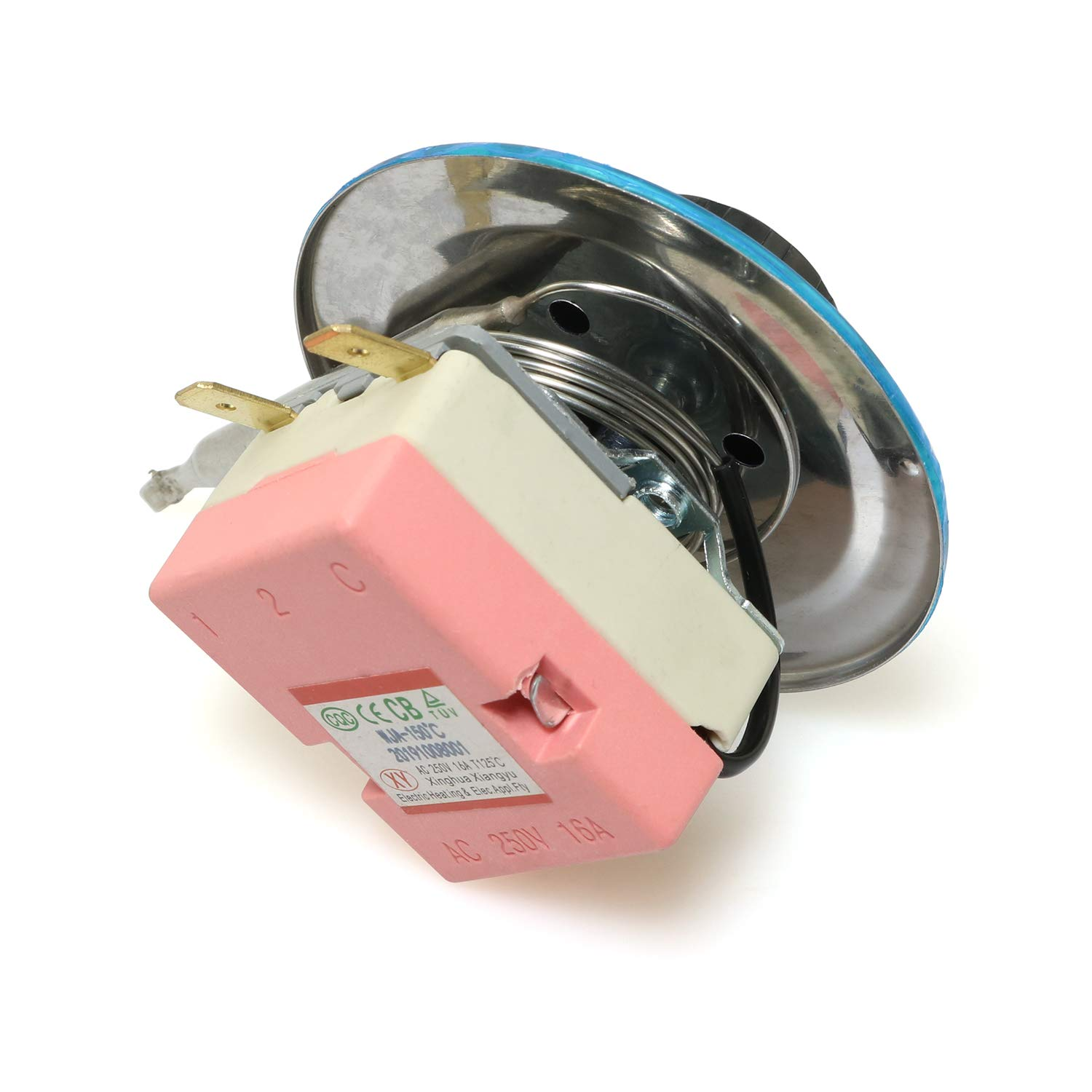 Magic/&shell Dial Thermostat AC 250V 16A 30-150 Degree Centigrade Adjustable Capillary Temperature Controller Switch for Electric Oven Refrigerator Heater