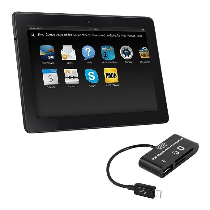 kwmobile Adaptador OTG 3en1 para Kindle Fire HD 7 (2014 ...