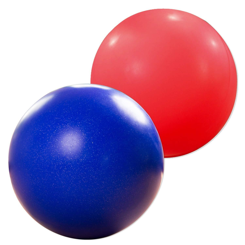 Sport-Thieme Balance-Kugel/Laufkugel | Balanceball, Balancierball für Artisten, Kinder-Zirkus, Gleichgewichtstraining | In 2 Farben u. Größen | Bis 100 kg Belastbar | Polyethylen-Kunststoff