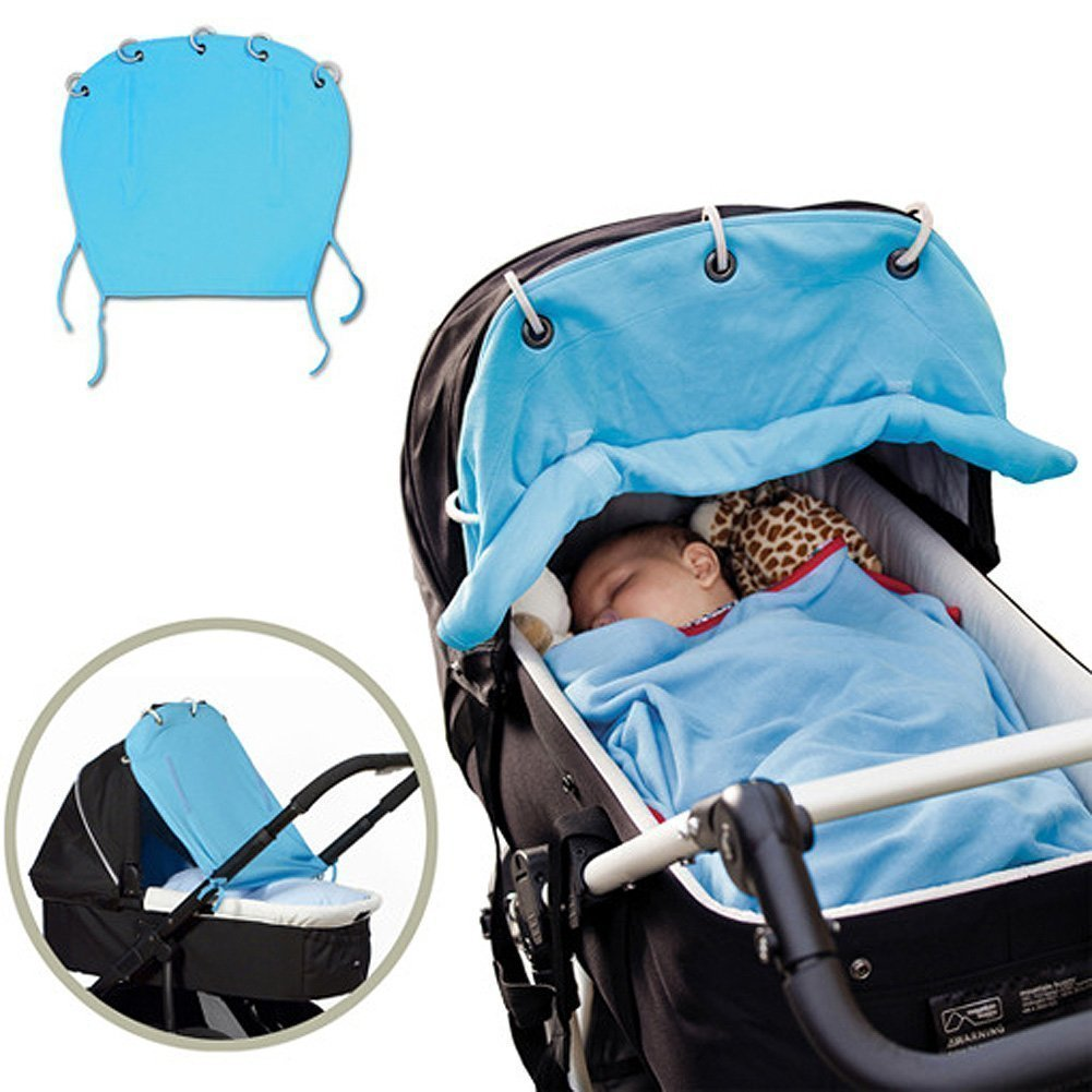 Universal Pushchair Sun Shield Stroller Baby Sun Shades Natural Home