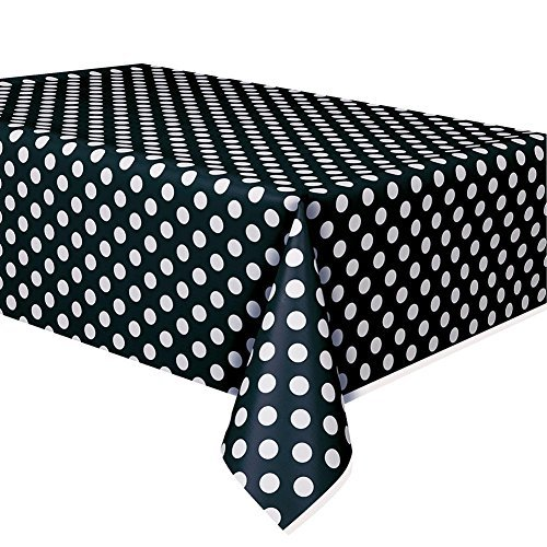 Century Novelty Black White Polka -