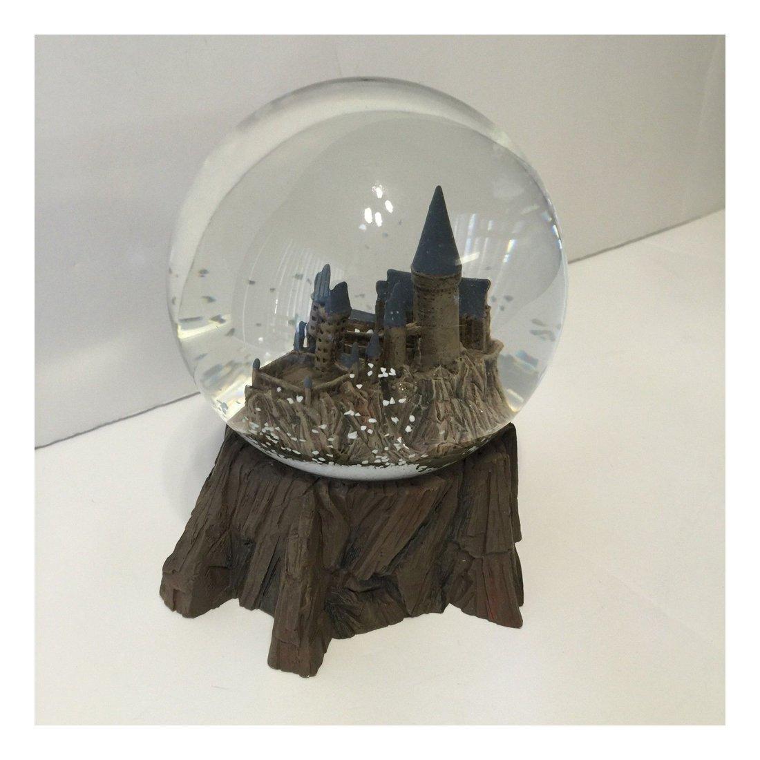 New Wizarding World Harry Potter Sculptured Castle Snow Globe Birthday Xmas Gift
