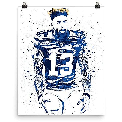 Odell Beckham Jr New York Giants Hair Poster