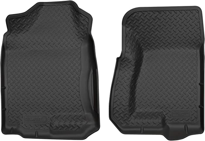 Husky Liners Front Floor Liners Fits 99-07 Silverado/Sierra 1500 Extended Cab