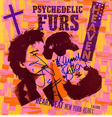 Fur Album - Psychedelic Furs Autographed X2 Signed Album Lp UACC RD COA AFTAL