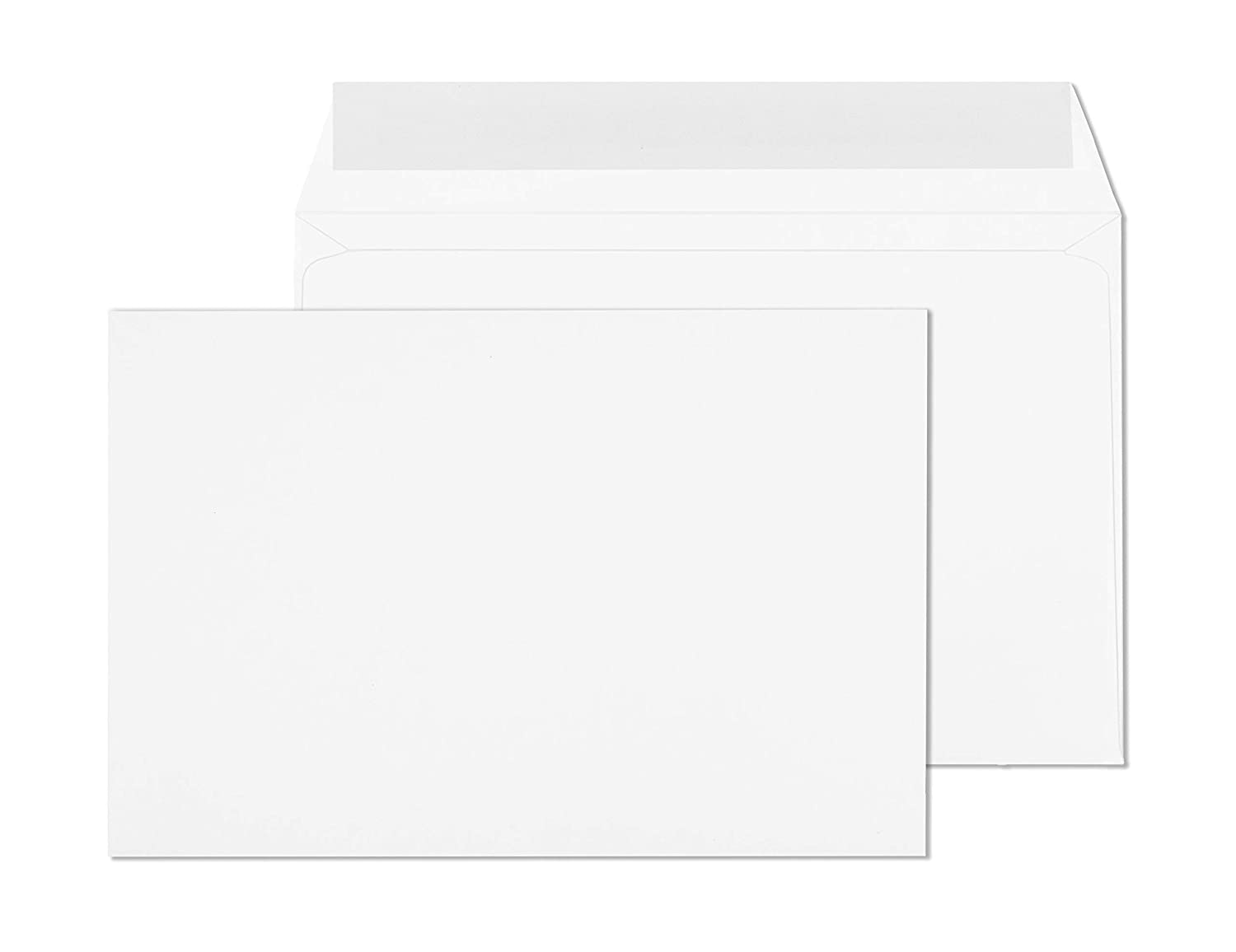 Open Side Peel /& Seal Envelopes Heavy-Duty 28 Pound White Envelopes 6x9 and Brochures - 6x9 Invitation Envelopes for Booklets 6 X 9 Booklet Envelopes Self Seal Pack of 50 Letters