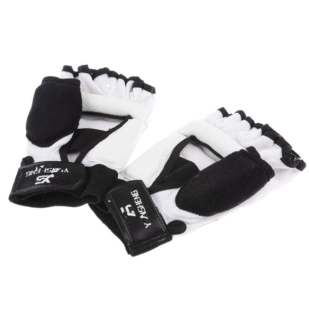 Tubayia 1 Paire de Gants de Protection 1 Paire de prot/ège-Pieds Taekwondo