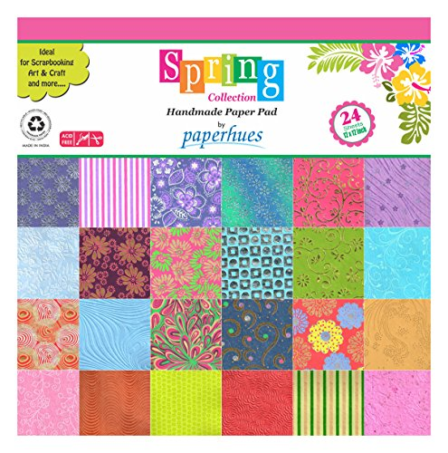 Handmade Decorative Paper (Paperhues Spring Blossom Collection 12x12
