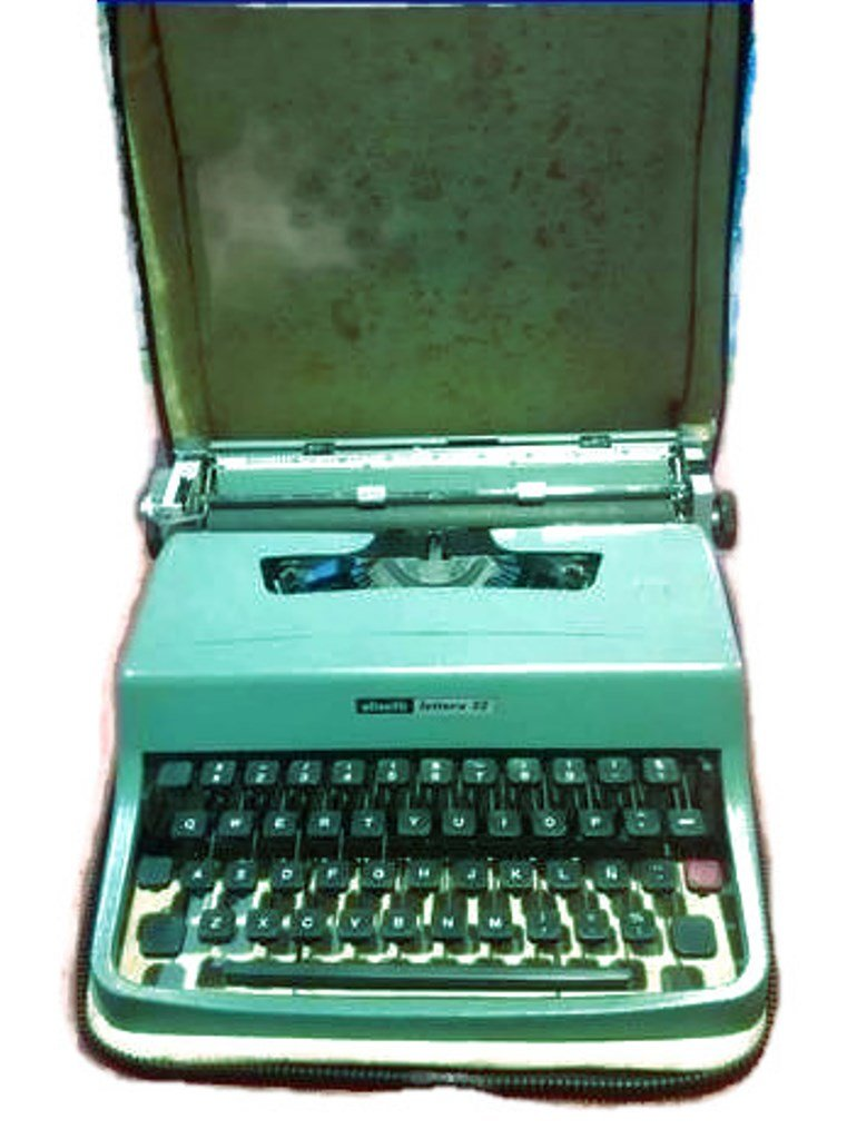 Olivetti lettera 32 maquina de escribir vintage: Amazon.es: Oficina y papelería