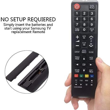 MYHGRC Nuevo Control Remoto de reemplazo de Smart TV para Samsung HD LED TV AA59-00622A AA59-00622A Control Remoto para Samsung TV: Amazon.es: Electrónica