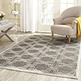 Cheap Safavieh Amherst Collection AMT413C Grey and Light Grey Indoor/Outdoor Area Rug (5′ x 8′)