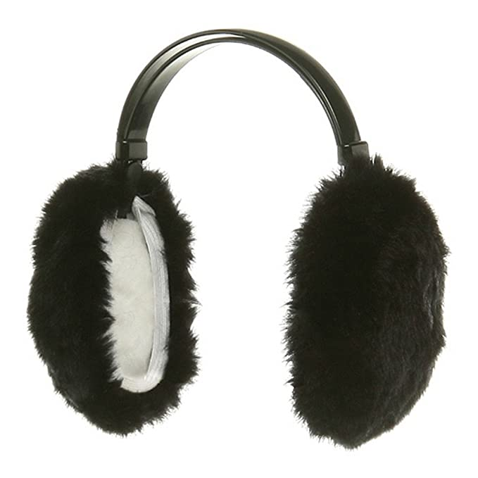 Winter Red-nosed Reindeer Ear Wamer Cute Fleece Adjustable Ear Muffs