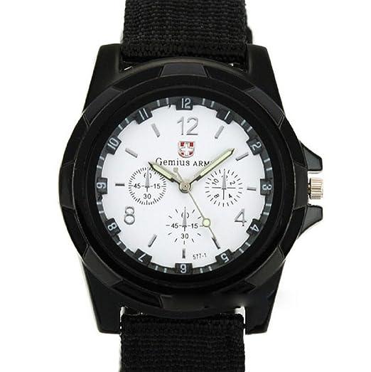 3a07972d6fd8 Cebbay Liquidación Reloj Reloj para Hombres Correa Trenzada Reloj Deportivo para  Hombre Reloj Militar Deportes de