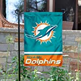 WinCraft Miami Dolphins Double Sided Garden Flag