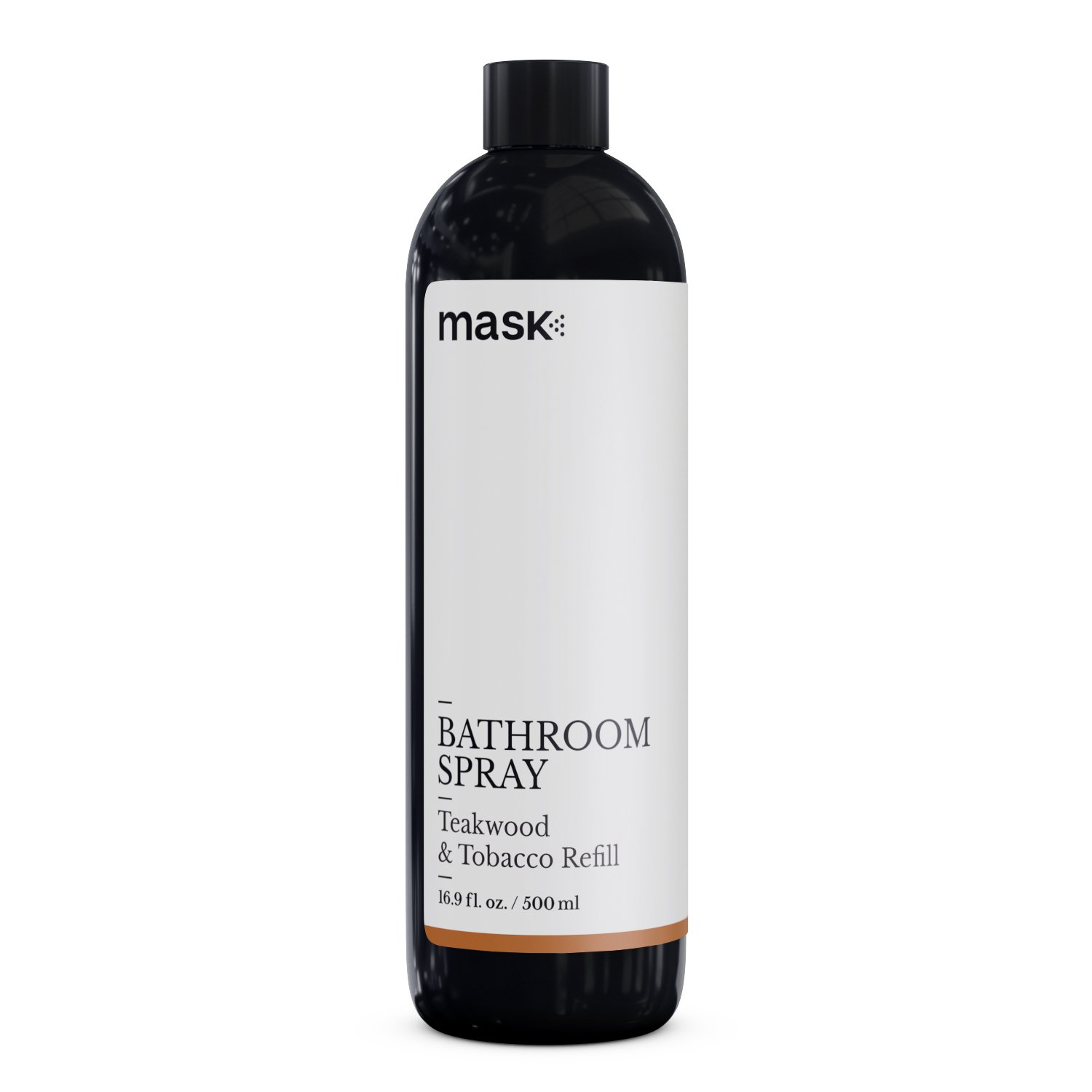 Mask Bathroom Spray Teakwood and Tobacco 16-Ounce Refill, Toilet Spray, Before You Go Deodorizer, Best Value Air Freshener Poo Poop Spray, Perfect for Travel, Risk Free Offer!