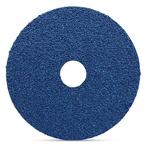 Pack of 25 24 Grit Black Hawk Zirconia Resin Fiber Sanding /& Grinding Discs 4.5-Inch x 7//8-Inch Arbor Hole