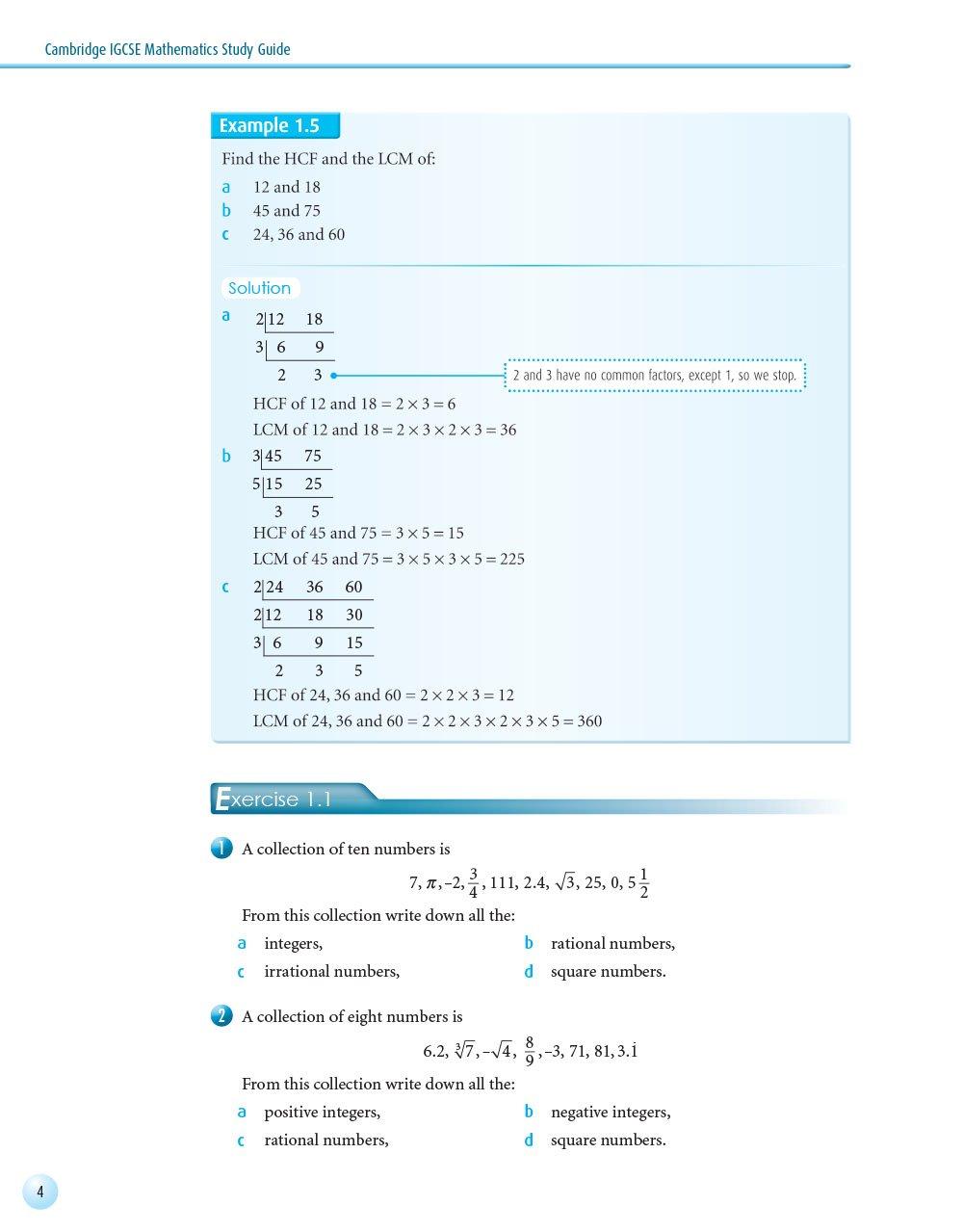 Cambridge IGCSE Mathematics Study Guide: David Ollerearnshaw, Benson Chow,  NTK Publishing Team: 9789881486981: Amazon.com: Books