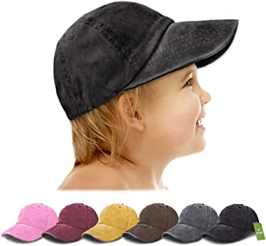 Lovely Baby Kids Hat Cotton Baseball Crown Cap Hat With Letter HAPPY