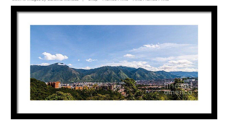 Avila Photograph Framed Print 24'' x 10.875'' Caracas, Venezuela by Maria Carolina Mendez