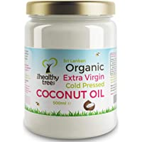 Organic Raw Extra Virgin Coconut Oil by TheHealthyTree Company