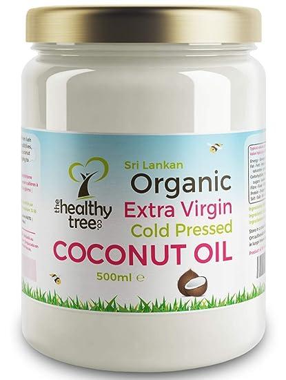 TheHealthyTree Company Aceite de Coco Extra Virgen Orgánico - 500ml