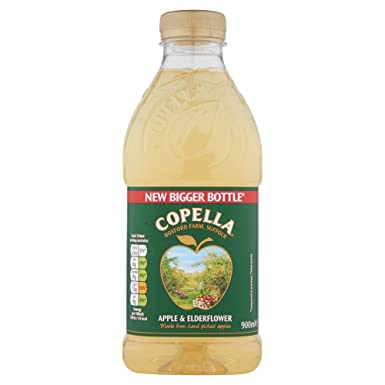 Copella Apple And Elderflower Juice 900 Ml Amazoncouk Grocery