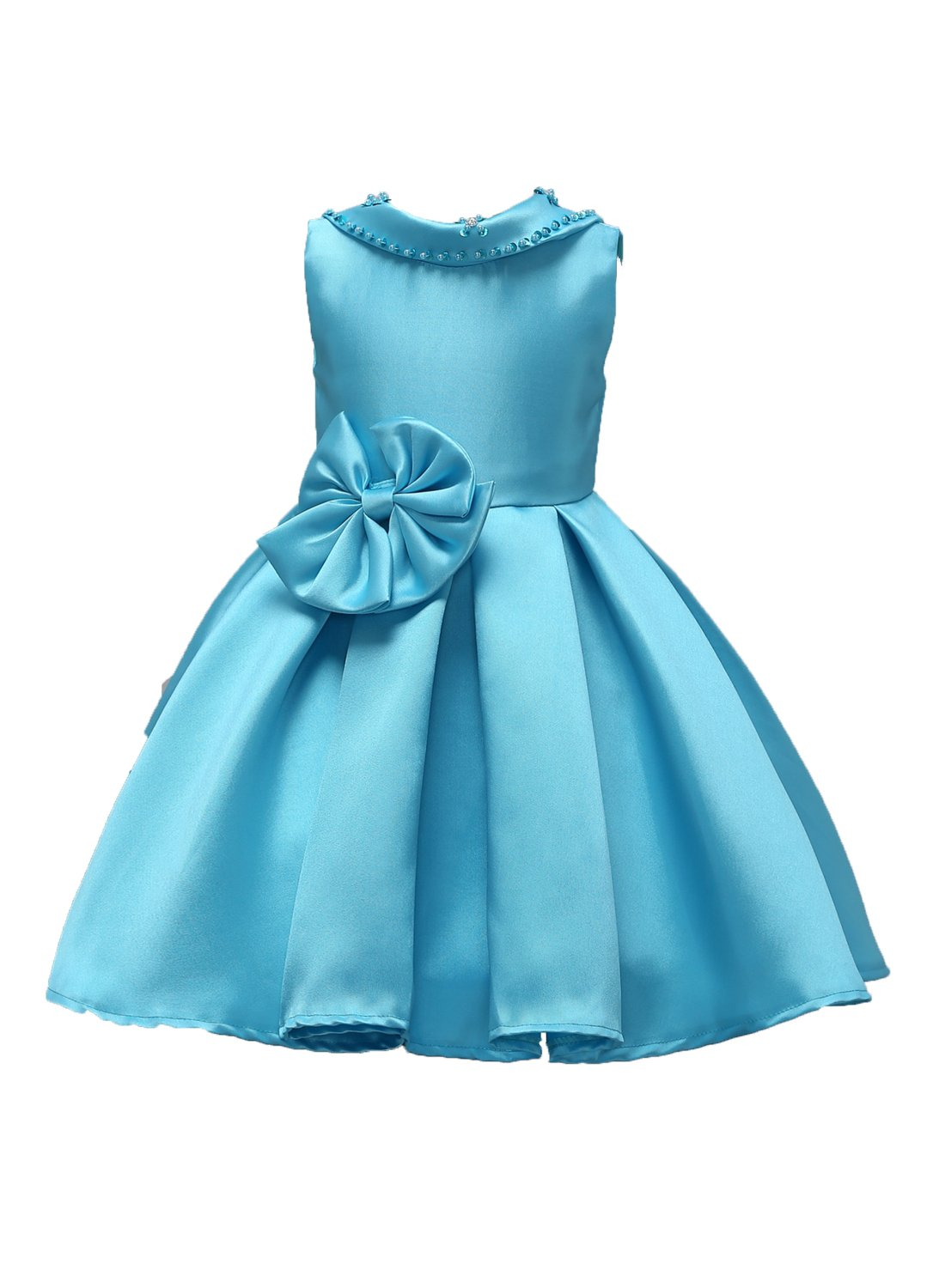 Amazon.com: FKKFYY 2-14 Years Little Big Girls Princess Dresses for ...