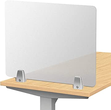 Personal Protection 5mm Polycarbonate Work Desk Screen Office Desk Screen