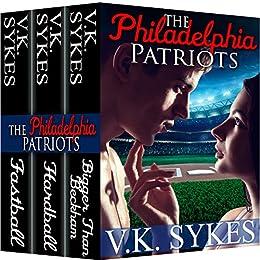 The Philadelphia Patriots 3 Book Box Set by [Sykes, V.K.]