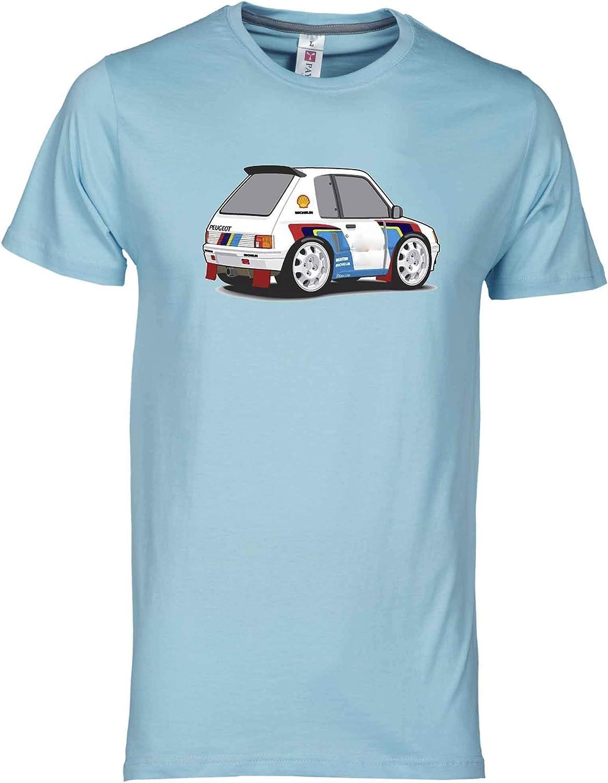 Desconocido Camiseta Peugeot 205 T16