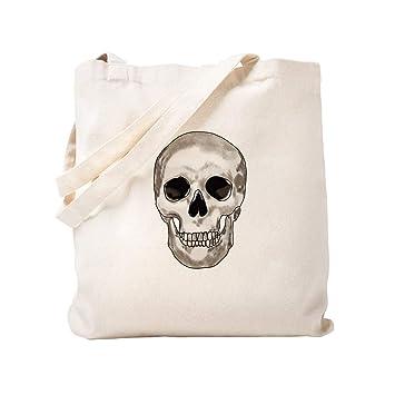 CafePress - Bolsa de tela para la compra, diseño de calavera ...