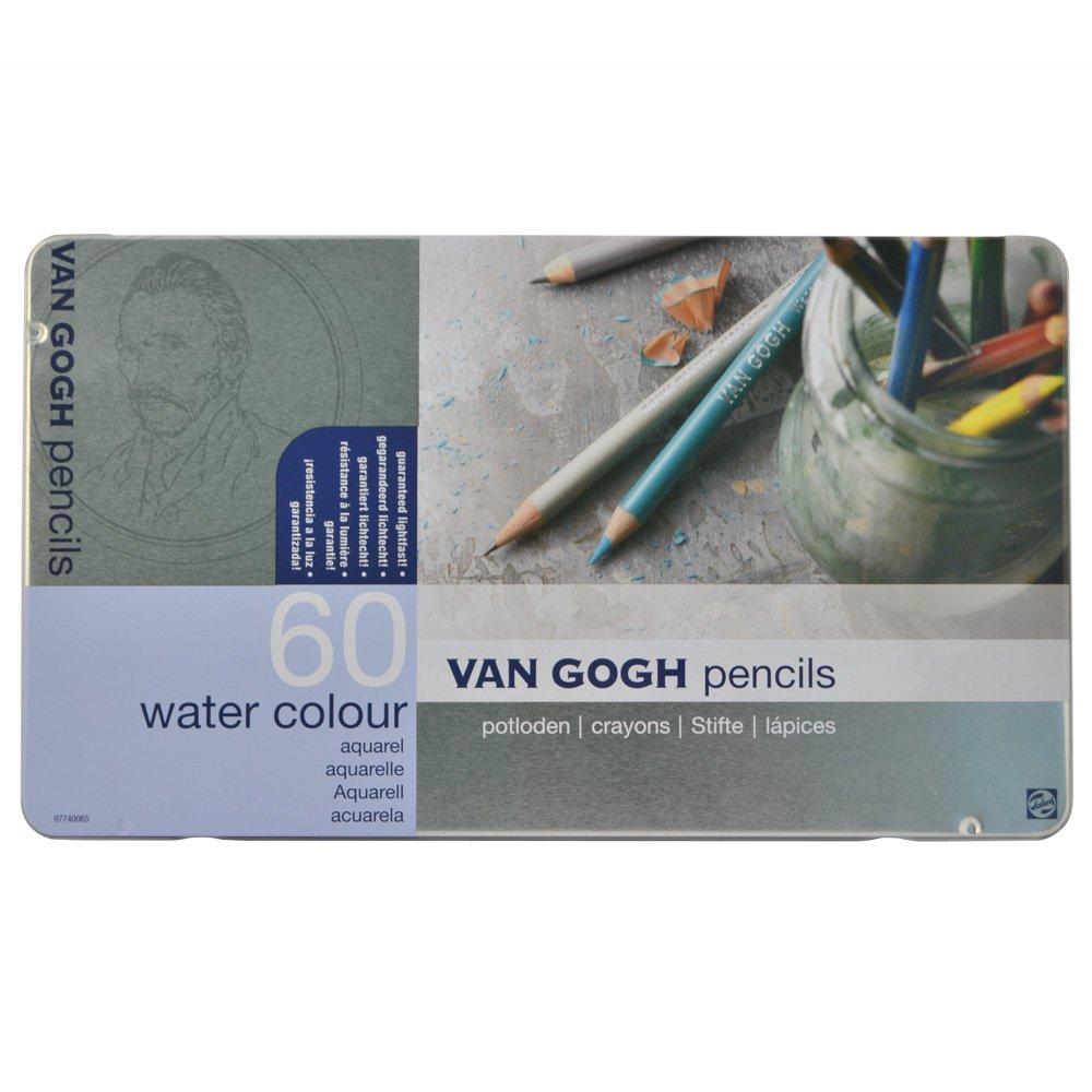 VAN GOGH Pencil 60 colored pencil Metal Case by Van Gogh (Image #1)