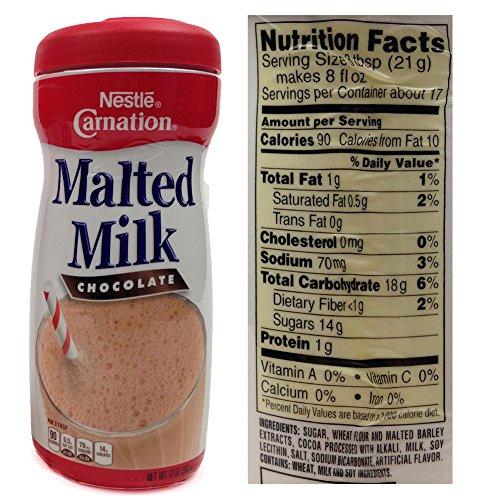 Carnation Malted Milk Powder Nutrition Facts Besto Blog