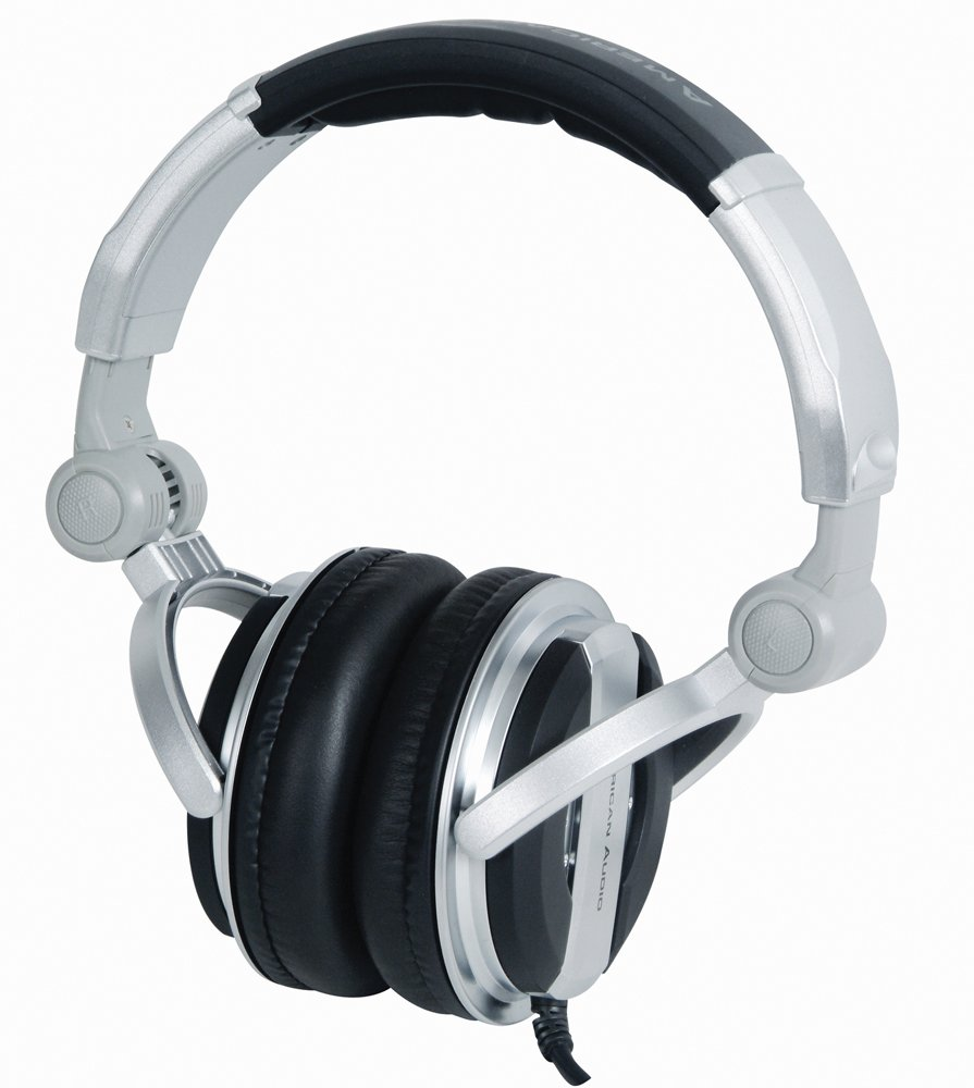 American Audio Hp700 Professional Foldable Dj Headphones HP 700