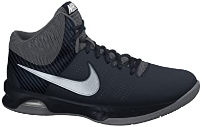 size 40 a942d 5b0cd Image Unavailable. Image not available for. Colour  Nike Men s Air Visi Pro  Vi Black, Metallic Platinum and Dark Grey Basketball Shoes -